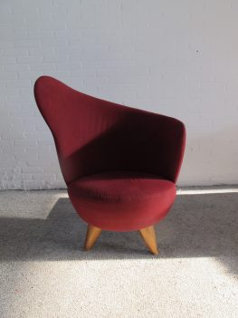 Theo Ruth Artifort Club Cocktail fauteuil Armchair vintage midcentury