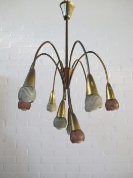 sputnik space age StilNovo hanglamp hanging lamp vintage midcentury