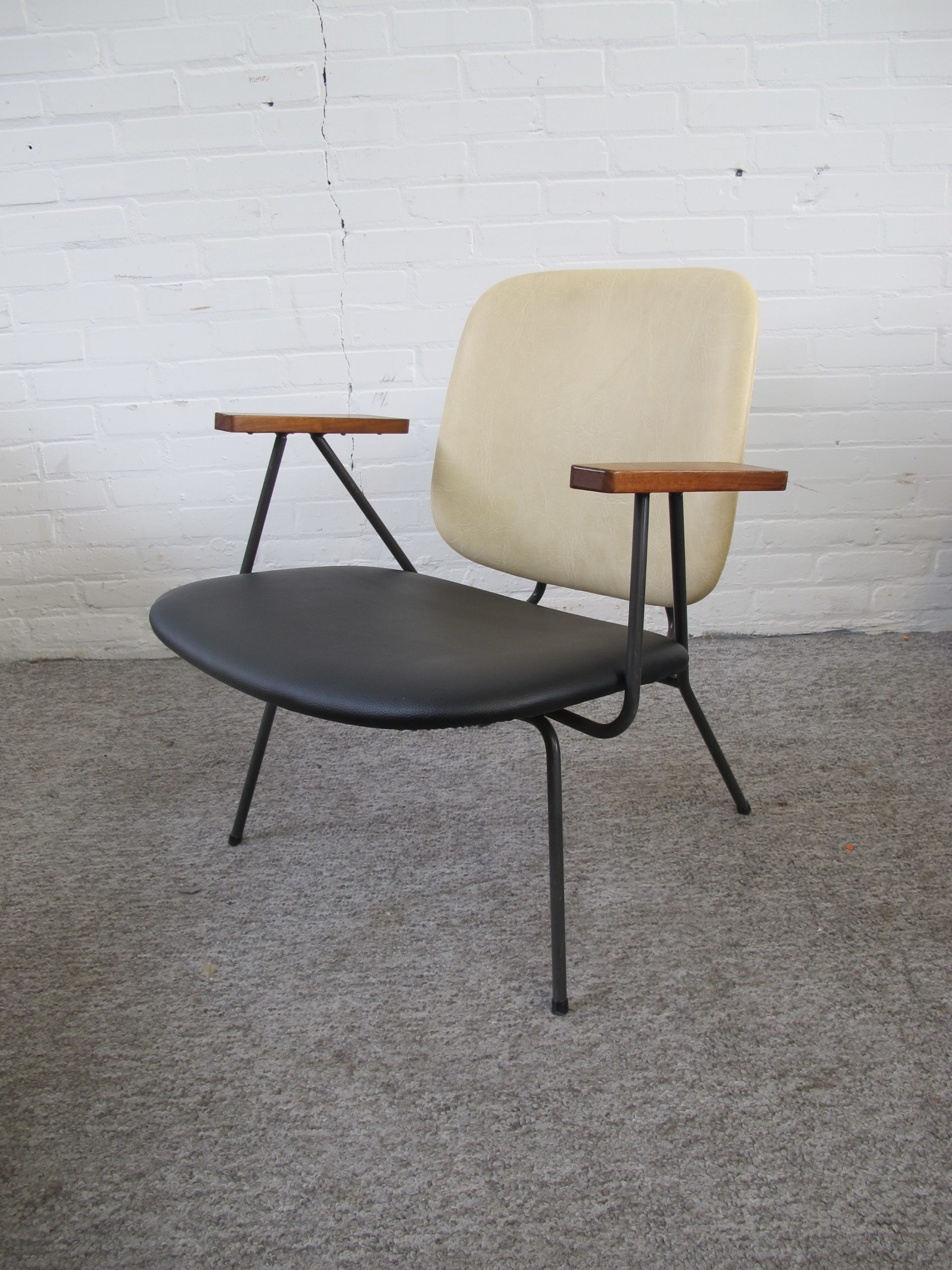 Fauteuil armchair lounge chair W.H.Gispen Kembo vintage midcentury