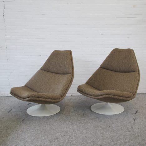 Fauteuil lounge chair F510 Geoffrey Harcourt Artifort vintage midcentury