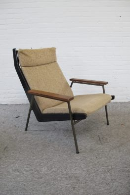 Lotus lounge chair fauteuil Rob Parry Gelderland vintage midcentury