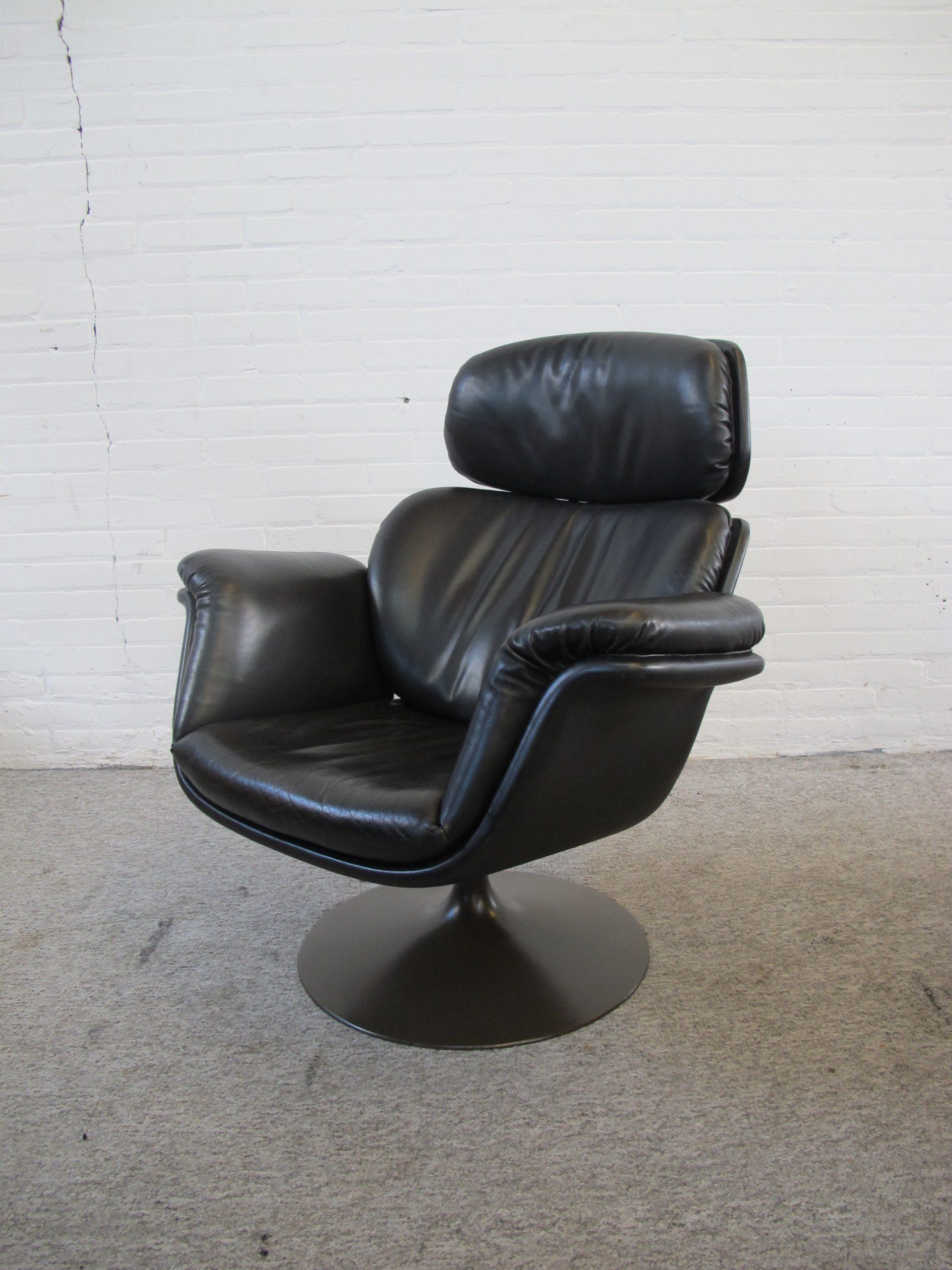 Fauteuil lounge chair F545 Big Tulip Pierre Paulin Artifort vintage midcentury