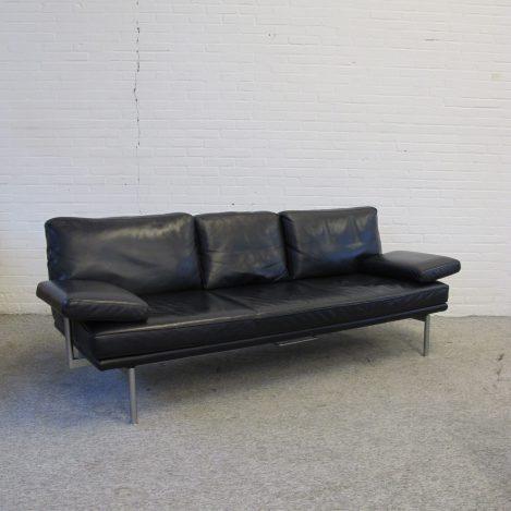 bank sofa bed sofa Walter Knoll living platform vintage midcentury