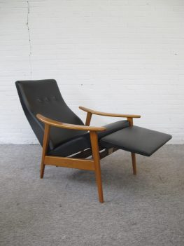 Fauteuil Milo Baughman adjustable relax lounge Chair vintage midcentury