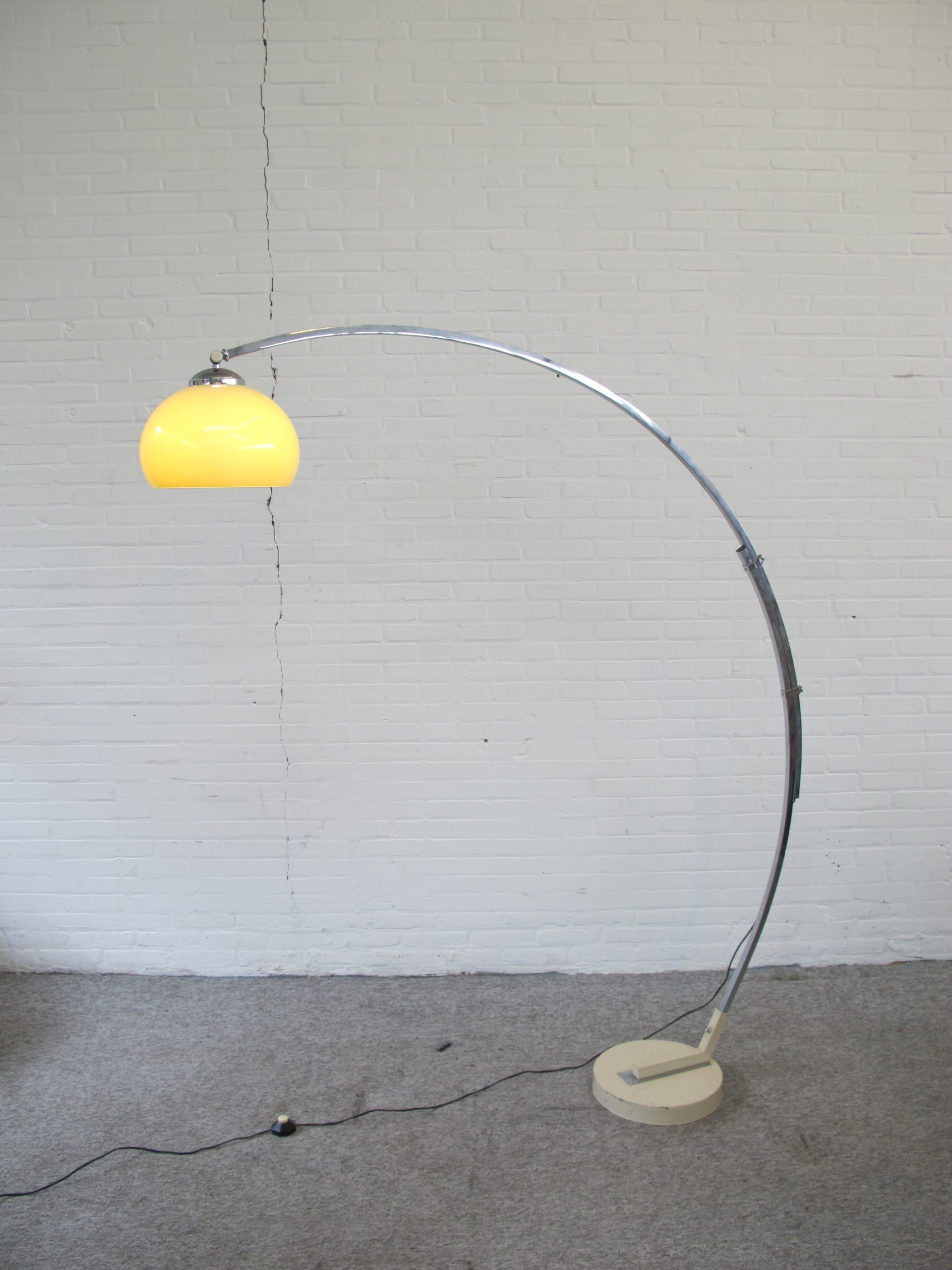 booglamp floor lamp Arc lamp Goffredo Reggiani vintage midcentury