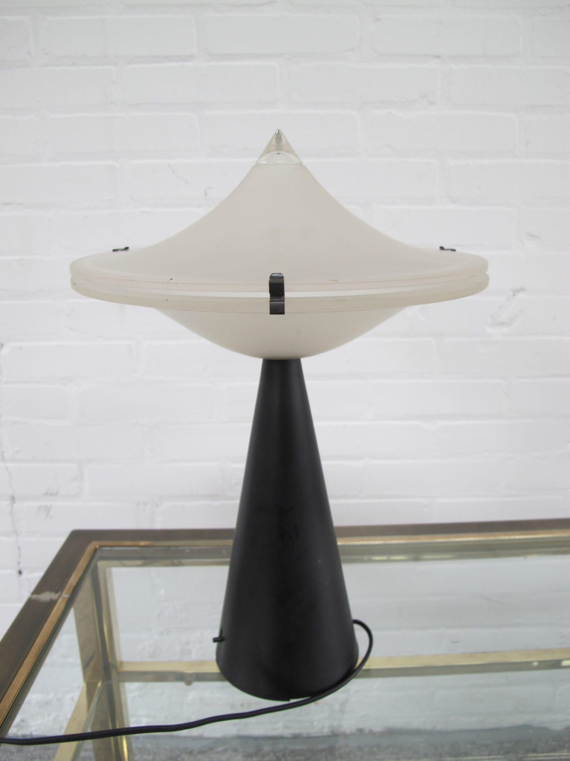 Lamp space age Alien lamp Cesare Lacca for Tre Ci Luce vintage midcentury