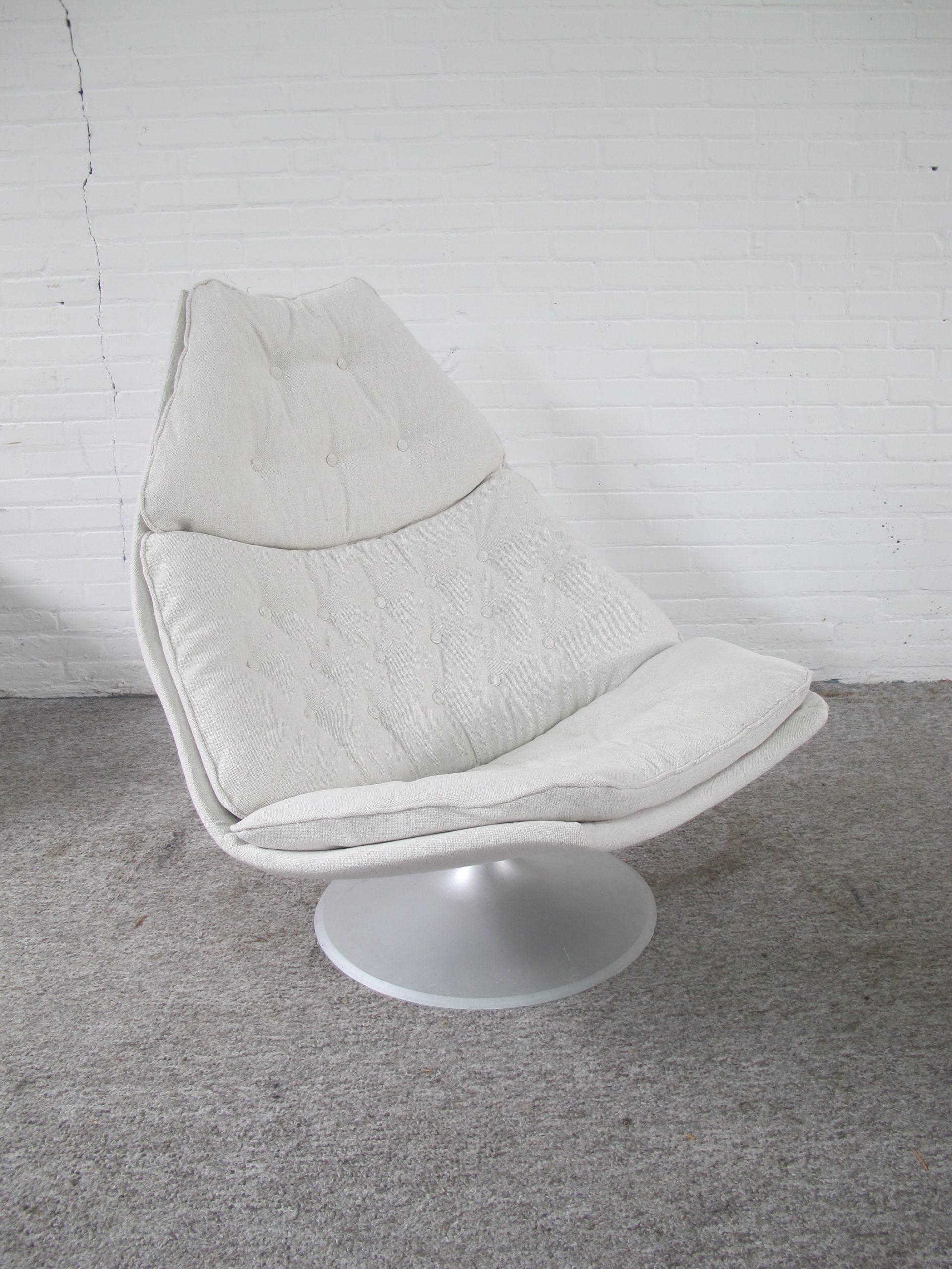 fauteuil lounge chair F588 Geoffrey Harcourt Artifort vintage midcentury