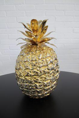 Ijsemmer Ice bucket pineapple The Turnwald Collection International vintage midcentury