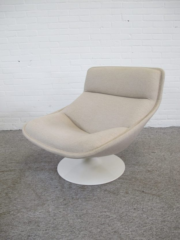 Fauteuil Lounge Chair F522 Geoffrey Harcourt Artifort vintage midcentury