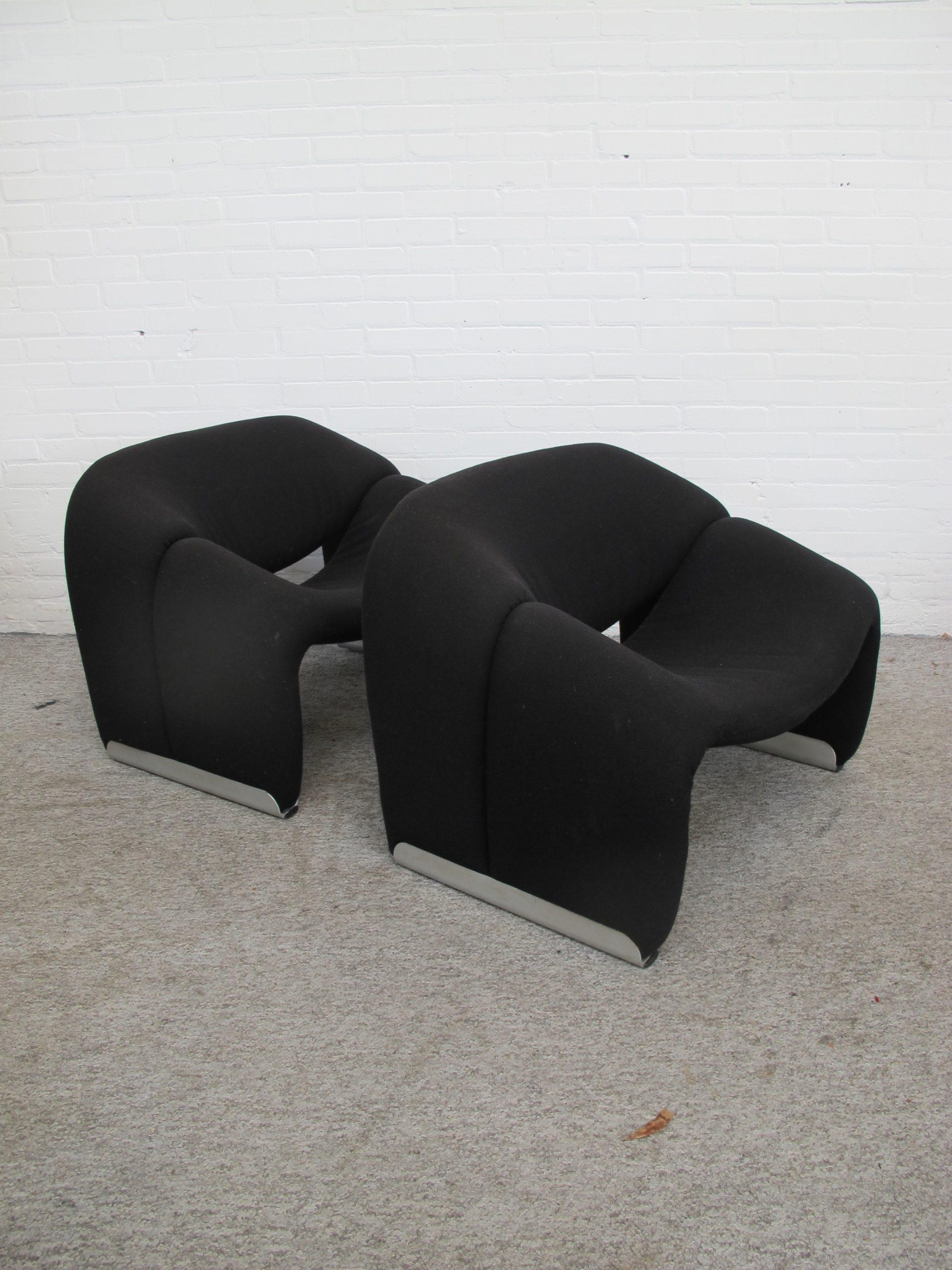 Fauteuil Groovy fauteuils F598 M-Chair Pierre Paulin Artifort vintage midcentury